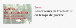 «Les erreurs de traduction en temps de guerre» par Thiphaine Samoyault