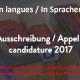 «Penser en langues/In Sprachen denken» – 3e Rencontre de traducteurs en SHS : appel à inscription