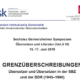 6e Colloque « Traduction et littérature » de Germersheim – Du 15 au 17/06/18 : Appel à communication et inscriptions