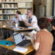 Deuxième tutorat de l'atelier français-chinois 2018 : Complicité et concentration pour d'intenses phases de travail en binôme