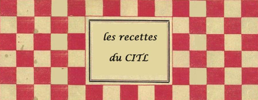 les recettes du CITL