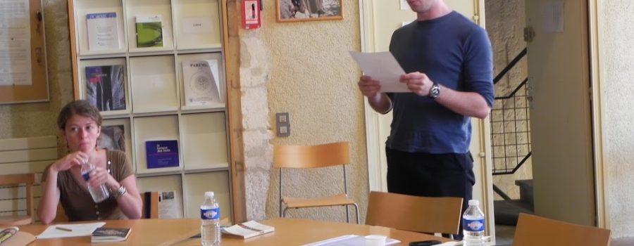 La Fabrique espagnole des traducteurs : entraînement à la mise en voix avec Manuel Ulloa