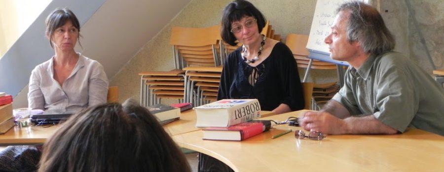 Journal de bord de la Fabrique franco-russe des traducteurs : goûter les mots