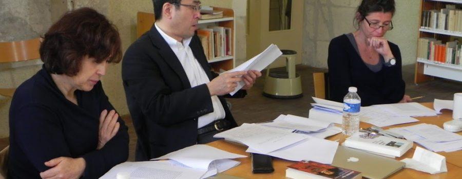 Nouveau tandem de tuteurs pour l'atelier franco-japonais de la Fabrique des traducteurs