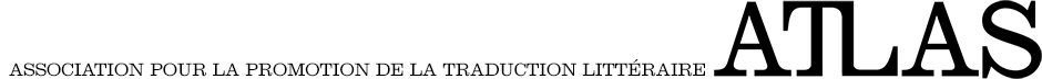 ATLAS (Association pour la promotion de la traduction littéraire)