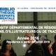 Dispositif départemental de résidences pour les traducteurs : appel à candidatures 2016