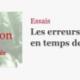 """""""Les erreurs de traduction en temps de guerre"""" par Thiphaine Samoyault"""