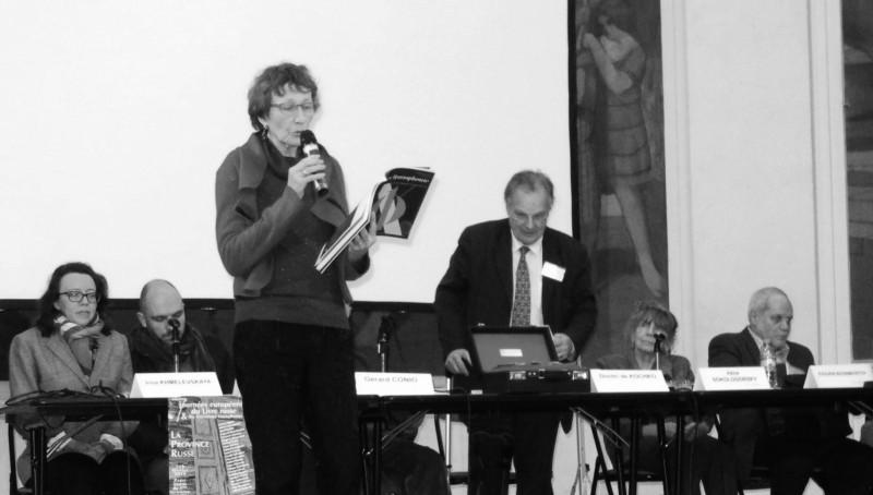 La traductrice Odile Belkeddar reçoit le 10<sup>e</sup> prix Russophonie
