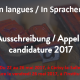 """Penser en langues/In Sprachen denken"" – 3e Rencontre de traducteurs en SHS : appel à inscription"
