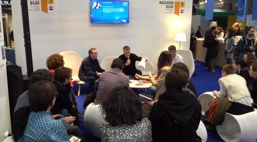 Mystification de traducteurs : Paul Lequesne & Yves Gauthier reviennent sur leur joute de traduction au salon Livre Paris