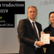 JIN Longge, lauréat du Prix de traduction Fu Lei 2019