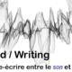Publication • Sound / Writing : traduire-écrire entre le<em>son</em>et le<em>sens</em>